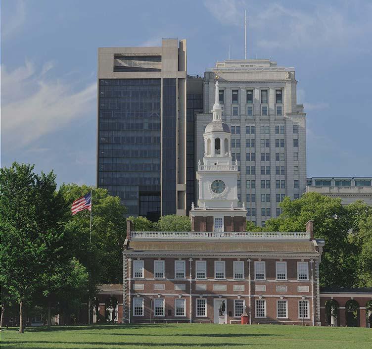 Independence National Historical Parkin Philadelphia
