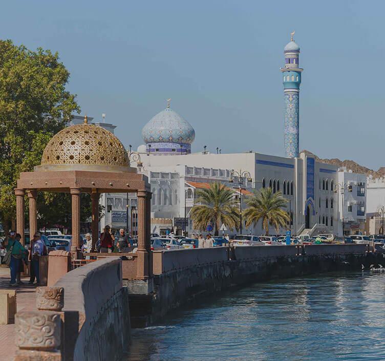 Shoreline in Muscat