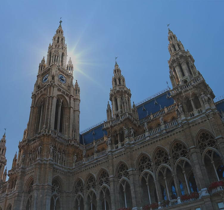 Rathaus City Hall in Vienna