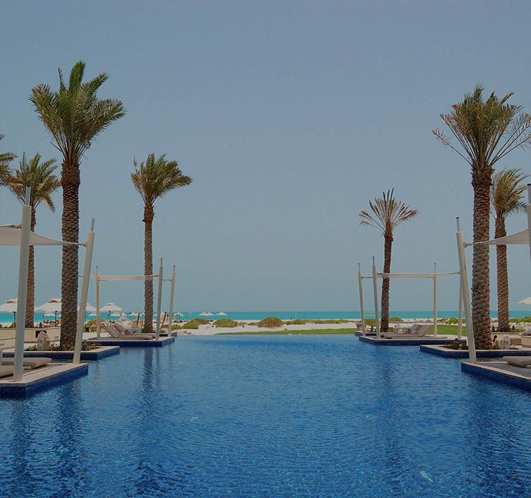 Insel Saadiyat in Abu Dhabi