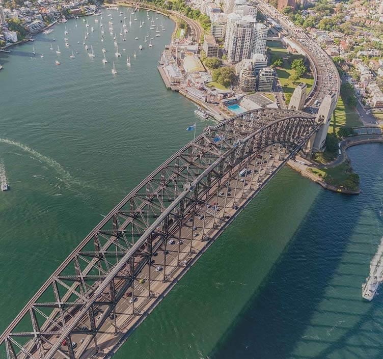 Sydney Harbour Bridge in Sydney