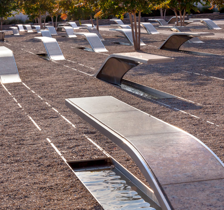 Pentagon Memorial in Washington DC