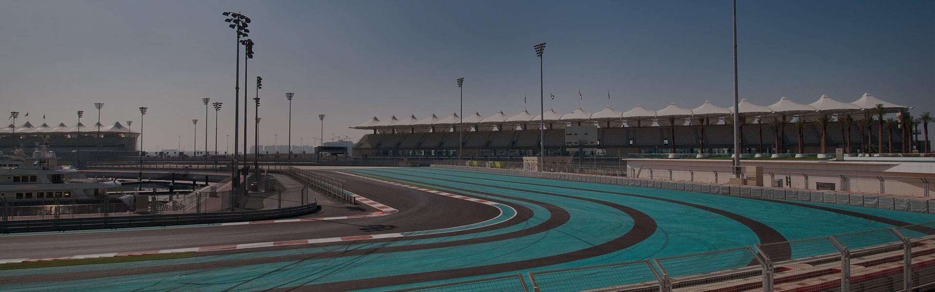 F1 racing track at Yas Island Abu Dhabi