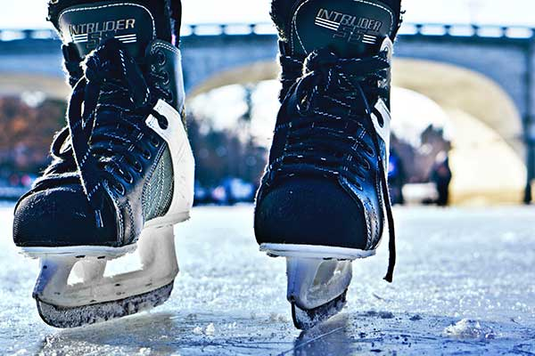 Ice-skating Outdoors