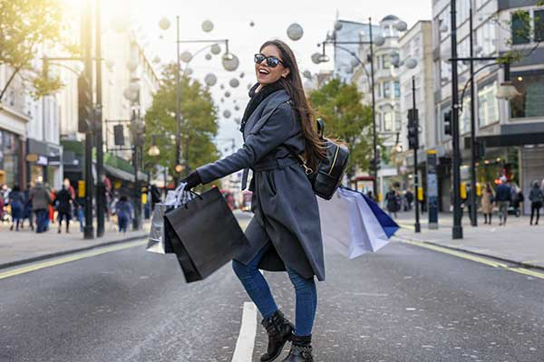 January sales in London