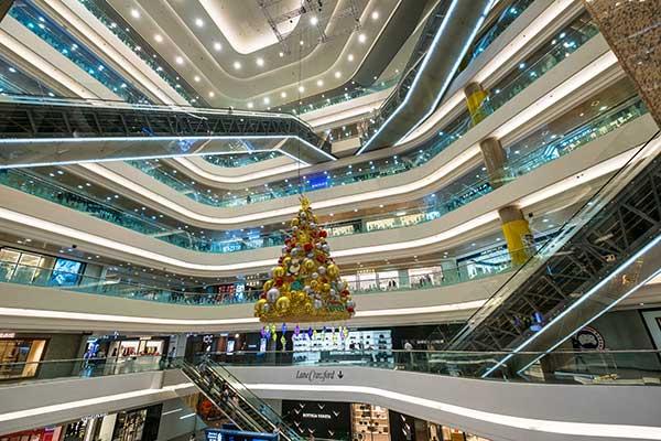 January sales in Hong Kong