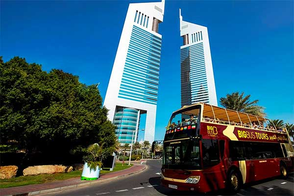 Sightsee with Big Bus Tours