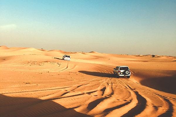 Silvester Feiern in der Wüste