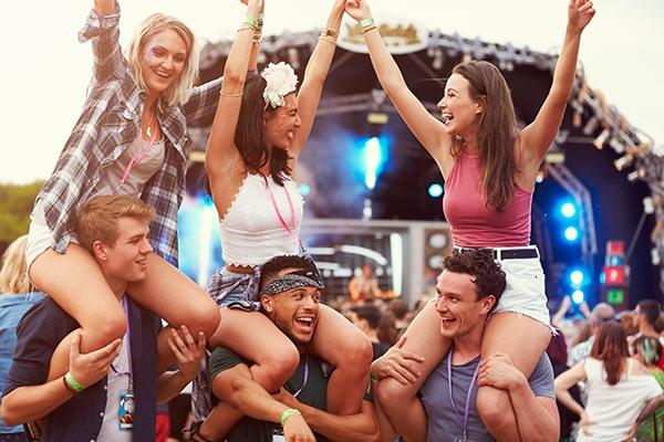 Experience festival fever