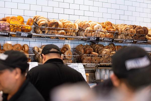 Las mejores Bagels de Nueva York