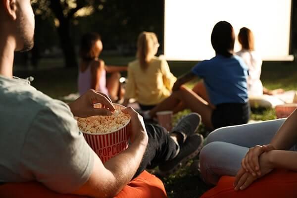 Free alfresco movies