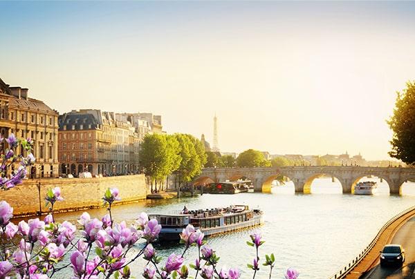 La Seine au printemps