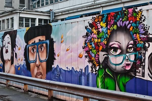 Descubra el arte callejero