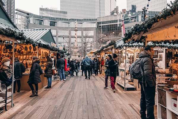 New York Christmas Markets
