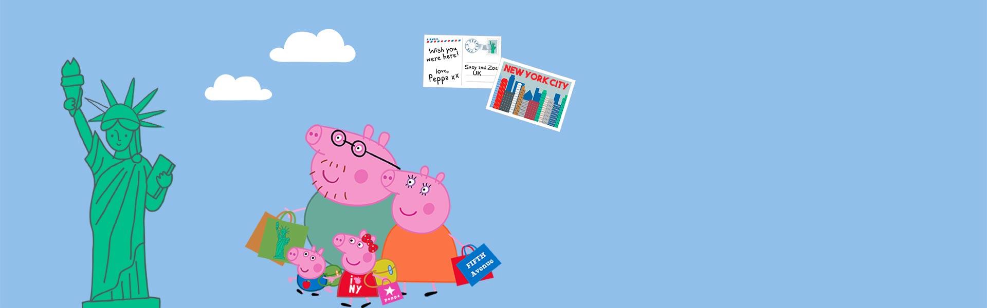 Peppa Pig's USA Adventure