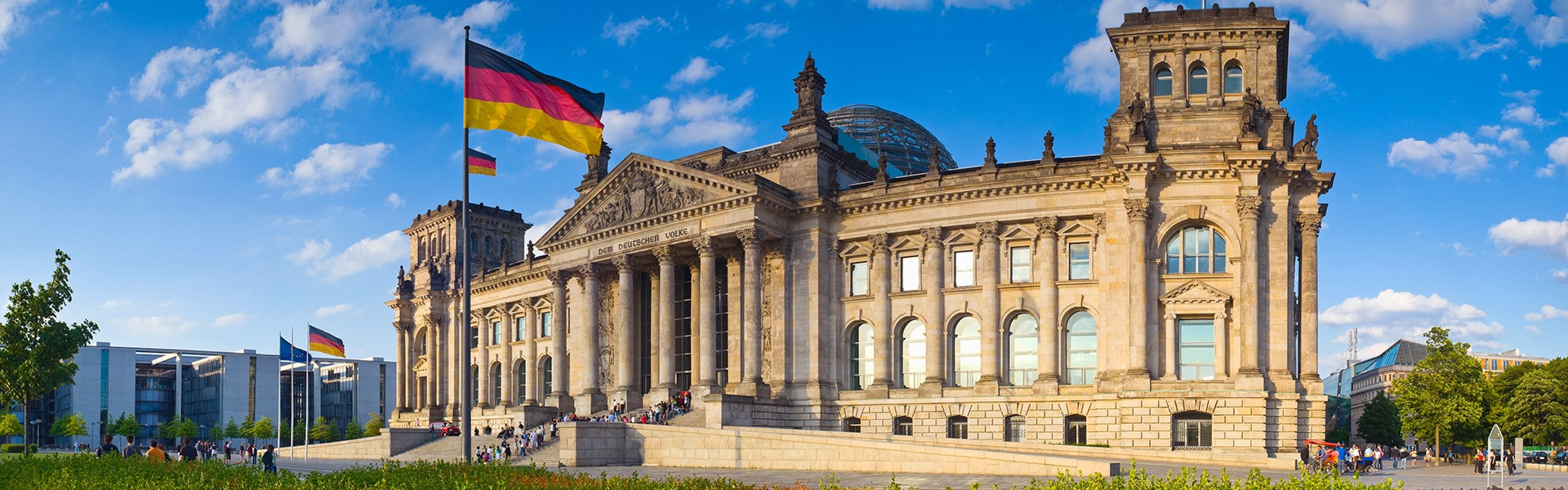 Bild des Reichstags in Berlin