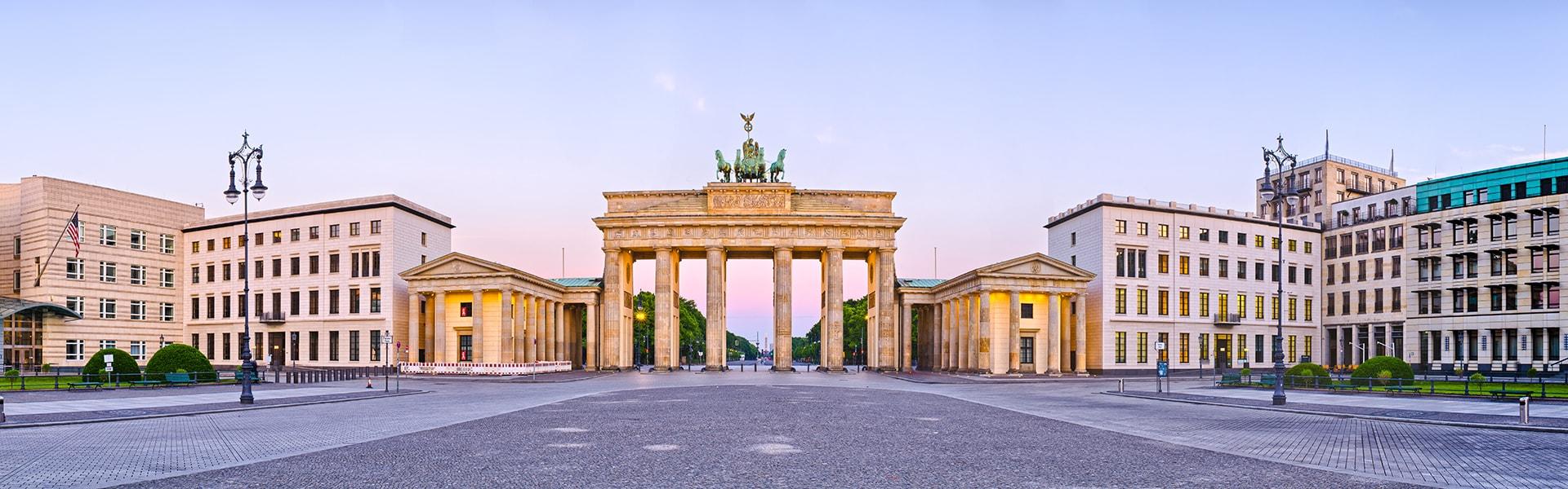 View of Brandenburg Gate in Berlin