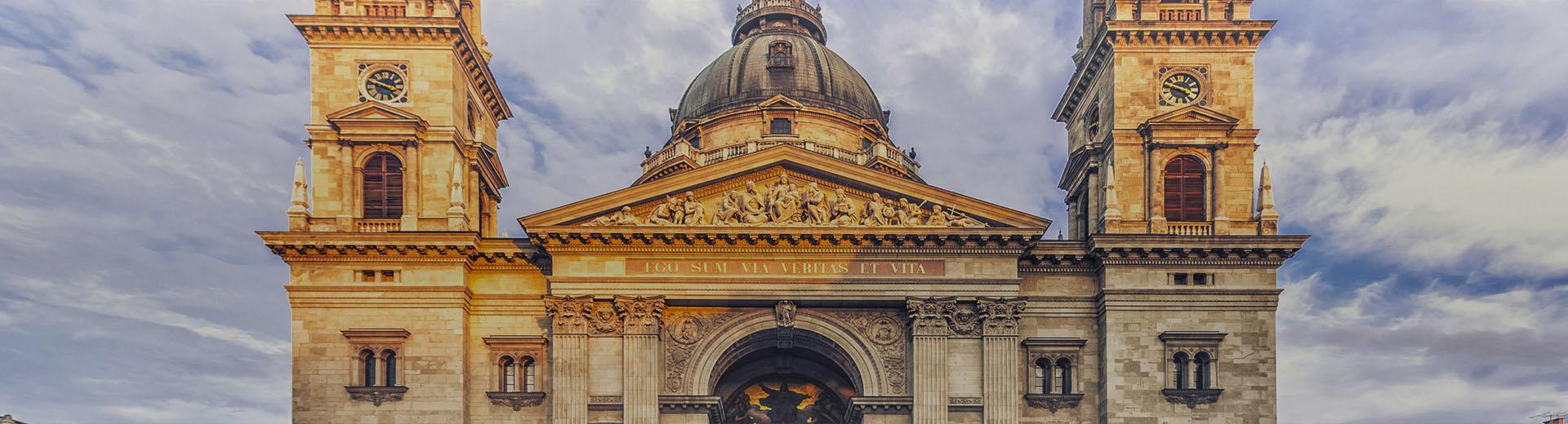 A Szent István-bazilika látképe