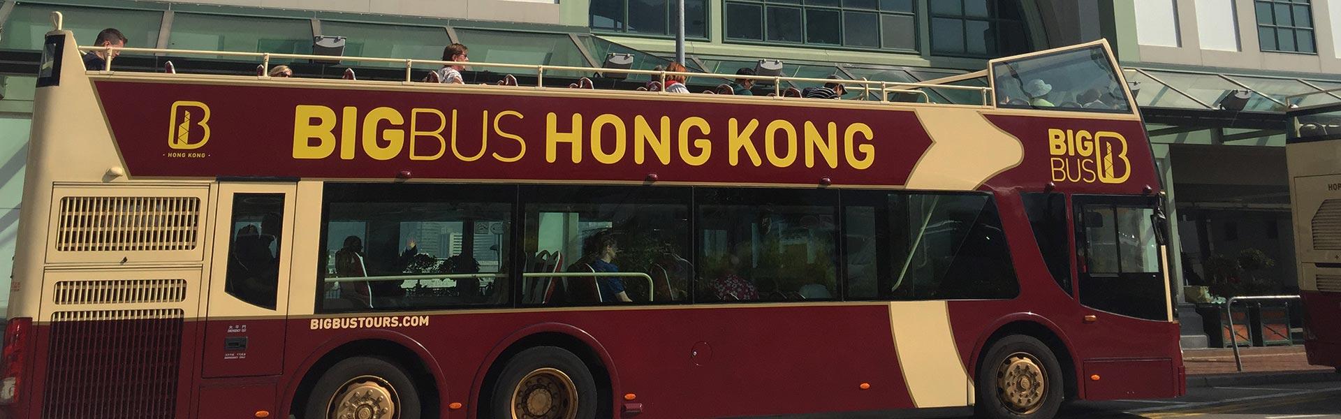 Big Bus tour in Hong Kong