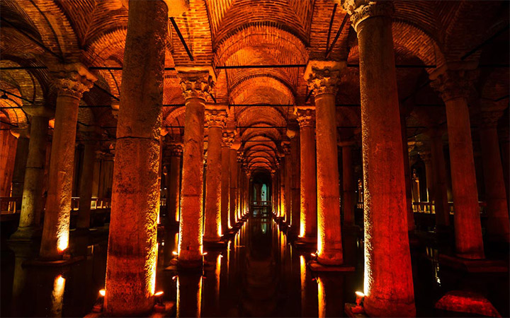 View of Basilica Cistern, Istanbul
