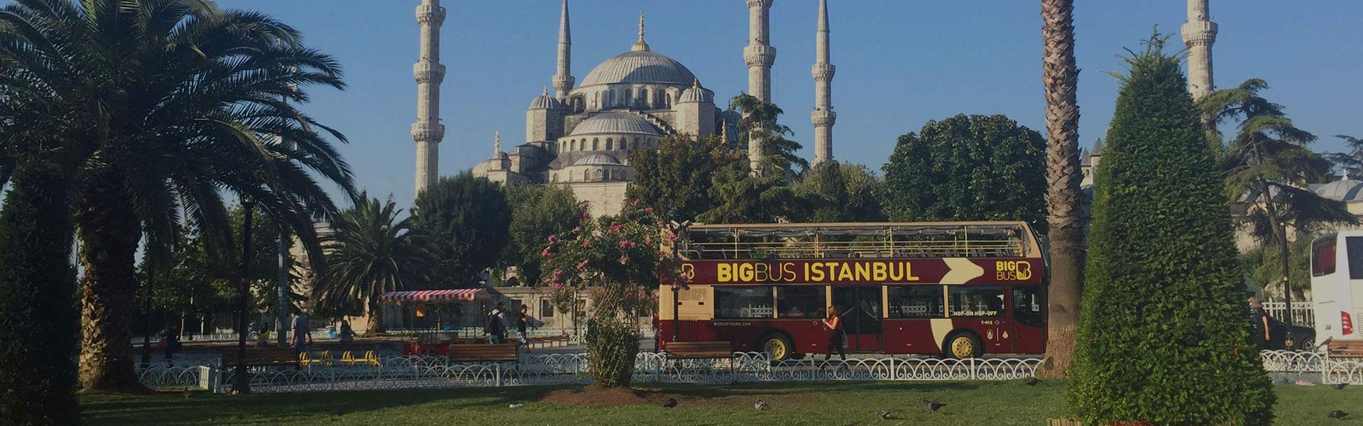 Big Bus open-top sightseeing tour in Istanbul