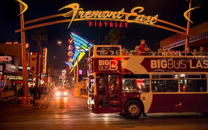 Las Vegas Open-Top City Sightseeing Bus Tours | Big Bus Tours