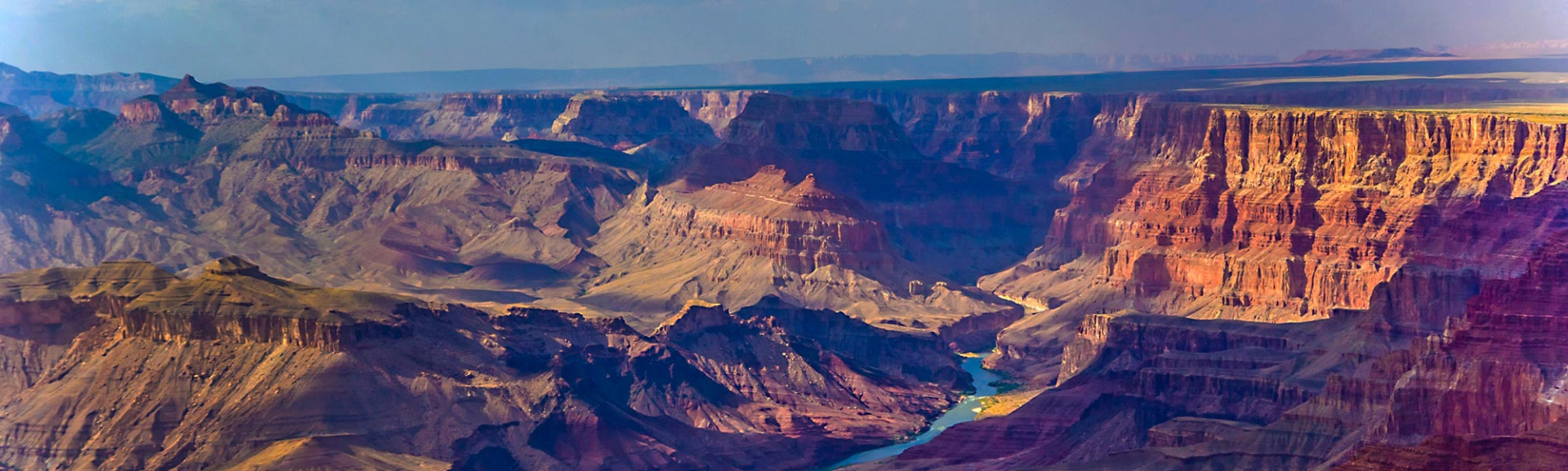 View of the Grand Canyon at Sunset