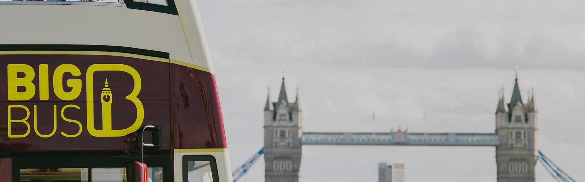 London Sightseeing-Touren mit Big Bus