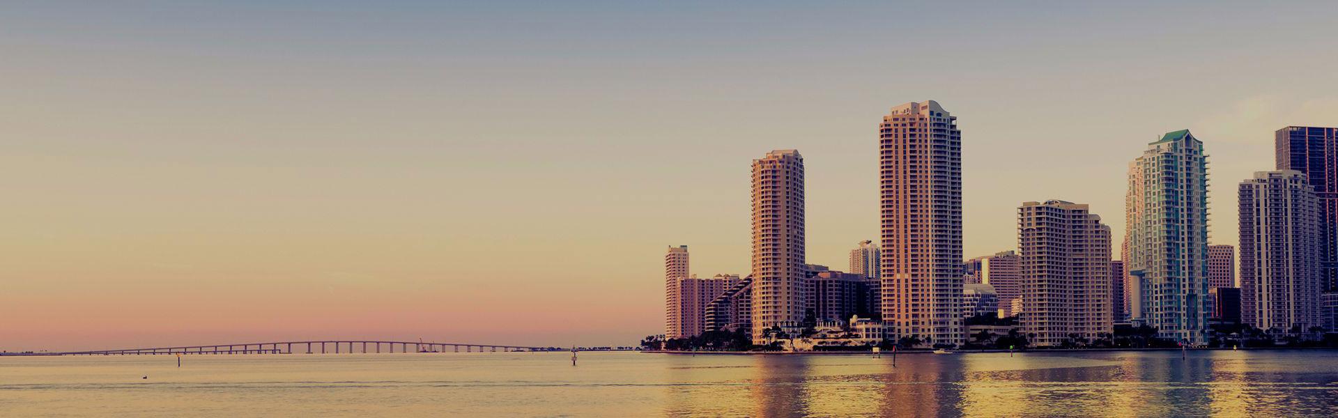 Miami Beach View Skyline