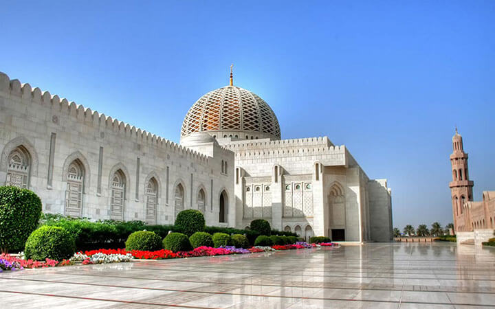 View of Muscat's Grand Mosque