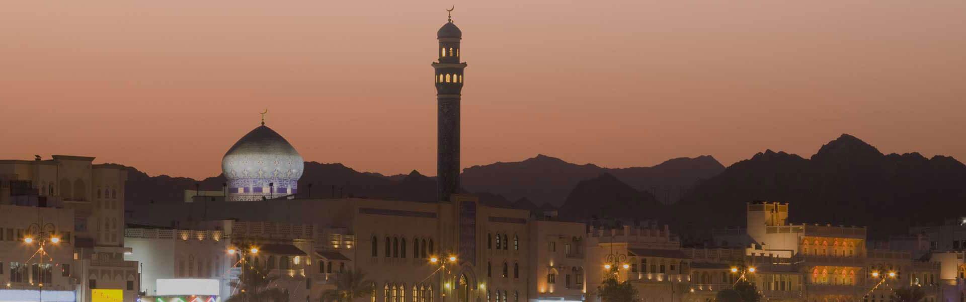 Skyline in Muscat