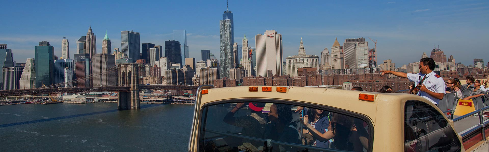 New York sightseeing tours with Big Bus