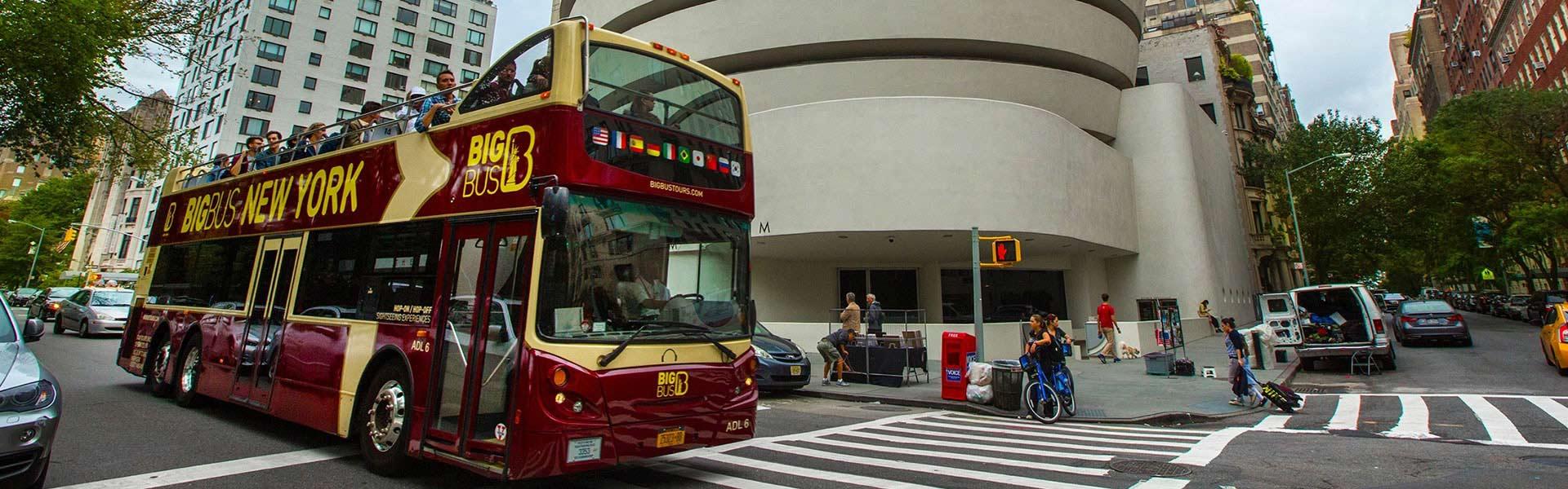 Tour turístico en autobús descapotable de Big Bus en Nueva York