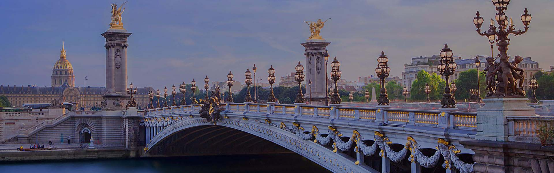 Pont Alexandre in Paris