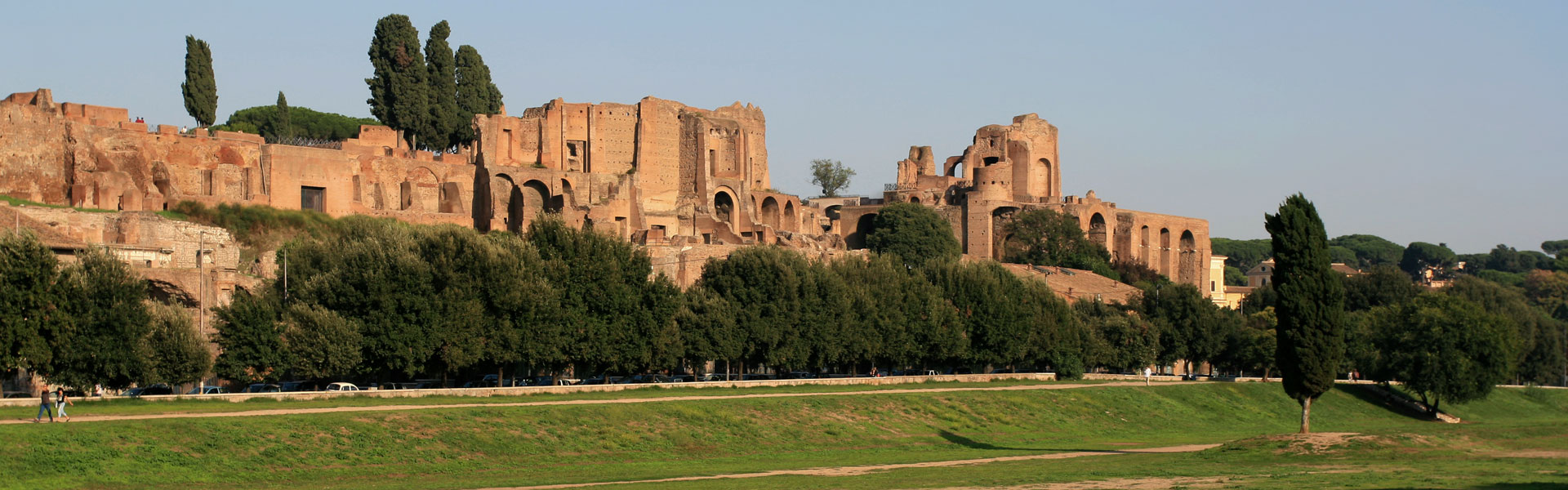 Afternoon view of the Circus Maximus, Rome