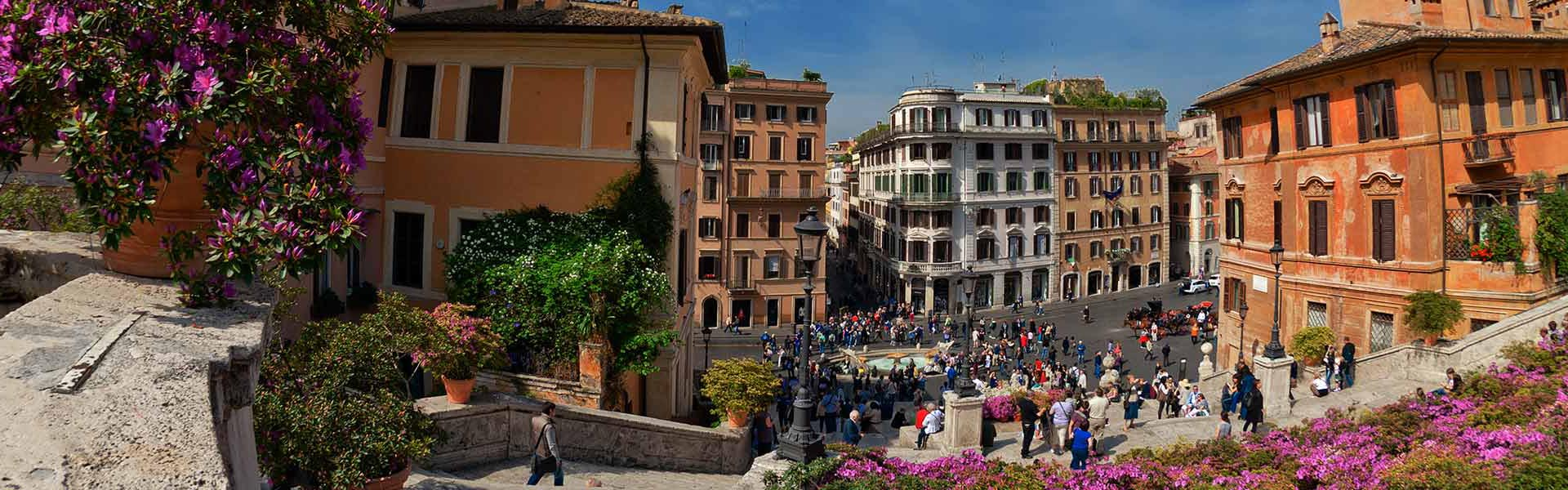 View of the Piazza Di Spagna, Rome