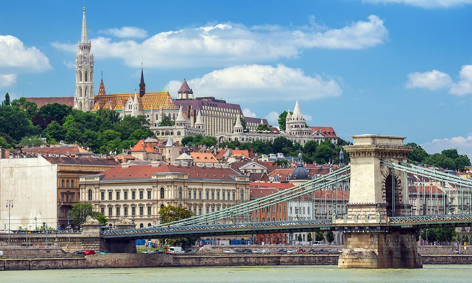 Fisherman's Bastion Landscape VIEW IN Budapest