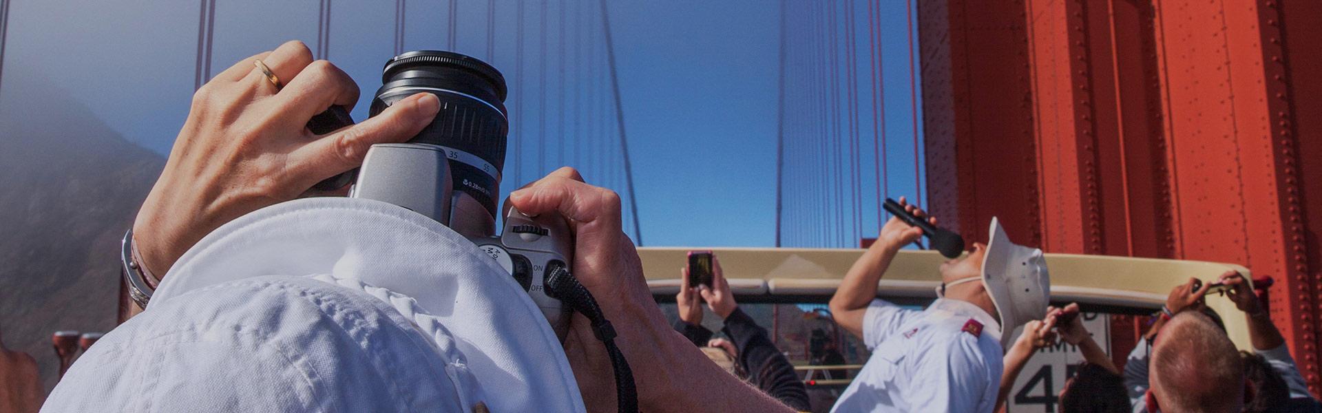 View of the Golden Gate Bridge San Francisco