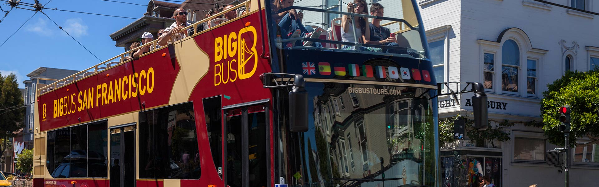 Big Bus Open-Top-Sightseeing-Tour in San Francisco