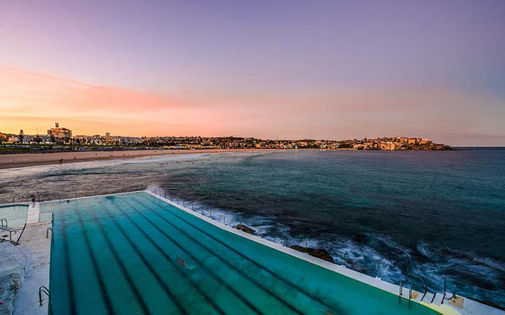 Icebergs Pool at Bondi Beach