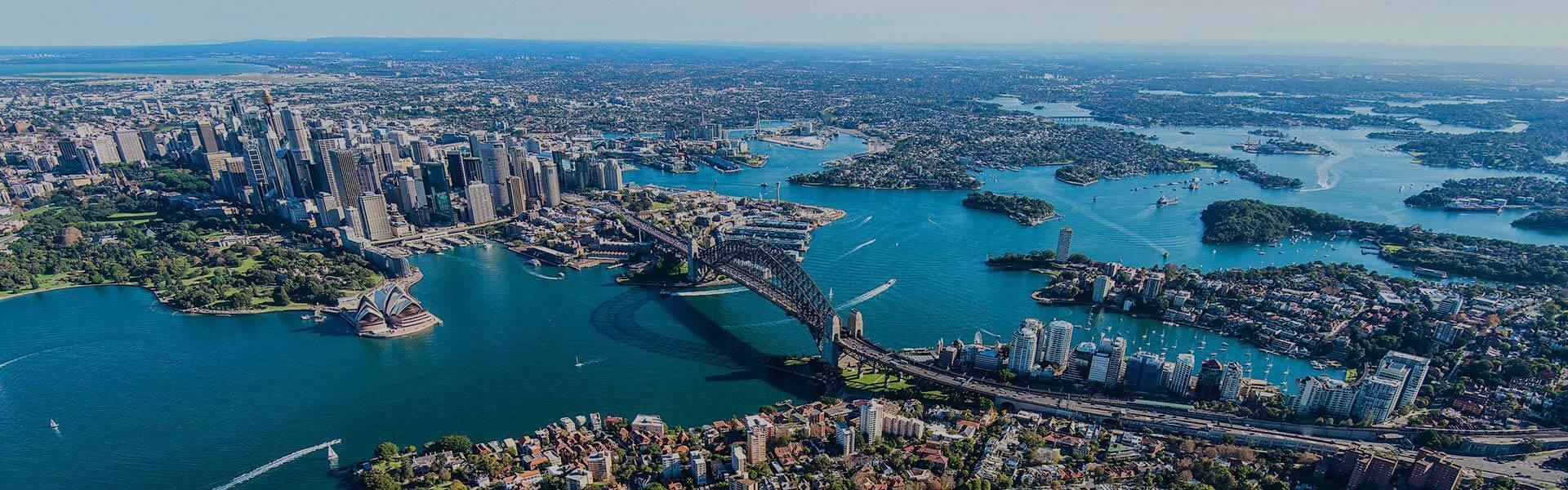 Sydney Harour skyline