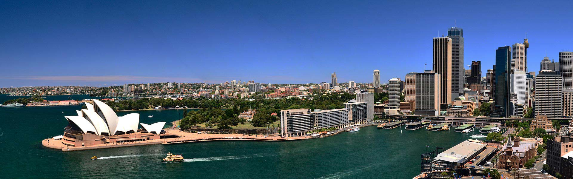 Sydney Harbour Panorama Big Bus Tours